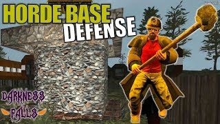 HORDE BASE DEFENSE | Darkness Falls MOD 7 Days to Die | Let