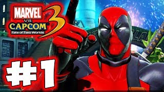 Ultimate Marvel Vs. Capcom 3 - Part 1 - Deadpool!