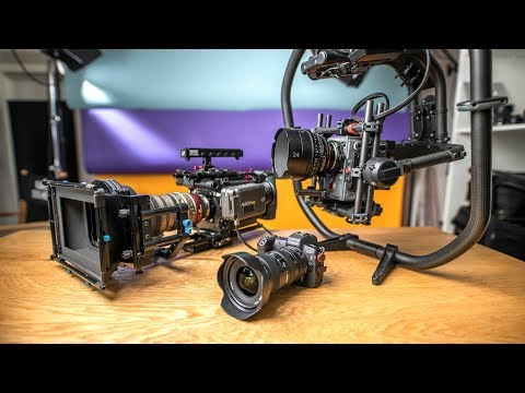 Canon EOS R Vs RED & Arri Alexa Cinema Cameras