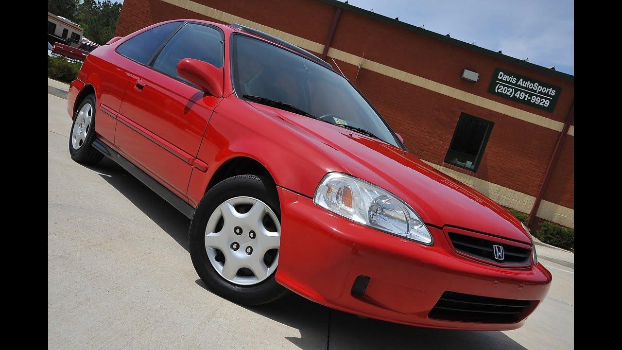 1999 Honda Civic Ex For Sale By Davis Autosports Youtube