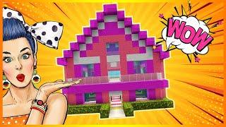 MINECRAFT: BARBIE DREAM HOUSE TUTORIAL