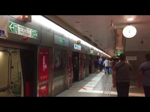 Commuters Exiting The Stalled Train At Bugis Due To Service Disruption