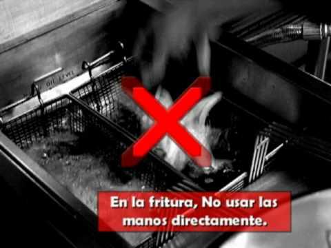 medidas preventivas en la cocina de