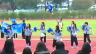 聖公會諸聖中學藍社啦啦隊