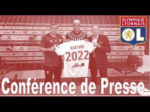 CONFÉRENCE DE PRESSE | MARIANO DIAZ | OL