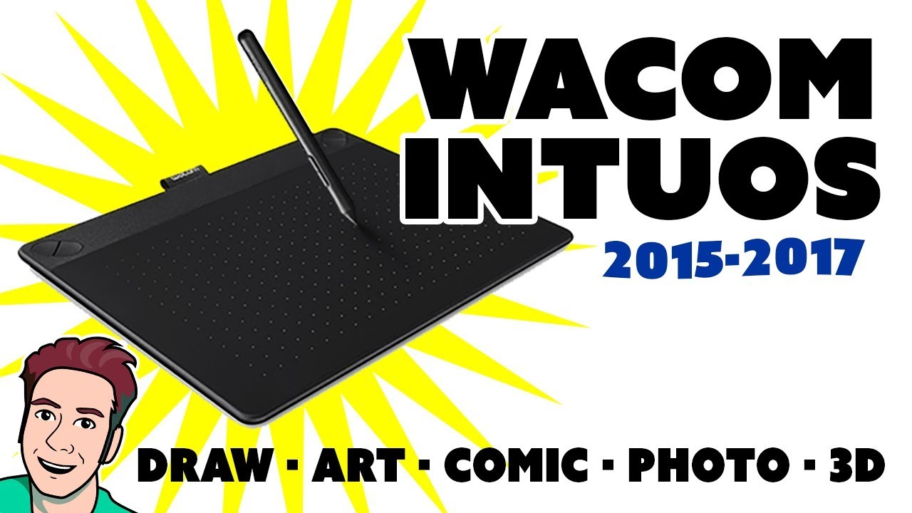 Wacom Intuos Review Draw Art Comic Photo 2015 2017 Models