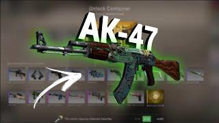GANHEI A AK-47 MAIS CARA DO JOGO [OPEN CASE CS:GO]