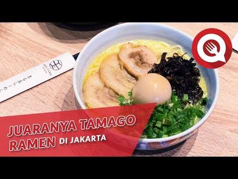Juaranya Tamago Ramen di Jakarta