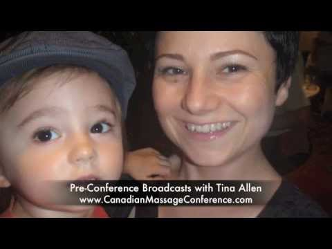 Autism & ADD/ADHD Pre-Conference Broadcasts with Tina Allen - Canadian Massage Conference