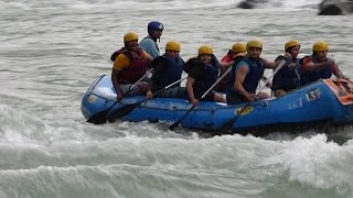 River Rafting In Rishikesh Uncut Version White Water Rapids In India.