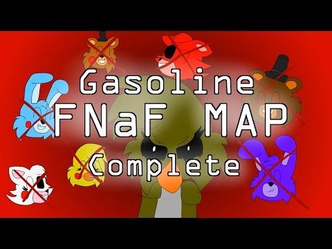 Gasoline FNaF MAP [COMPLETE]