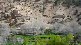 Aldea de Irbrane, Azilal, Alto Atlas, Marruecos