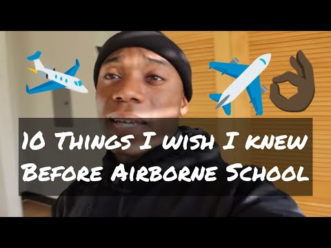 10 Things I Wish I Knew Before Coming To Airborne School