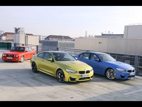 BMW M3 y M4 Coupé, juntos en vídeo