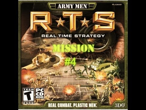 Army Men: RTS-Mission #4~Full Plastic Jacket!
