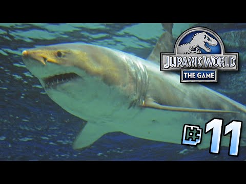 A Great White Disaster!! || Jurassic World - Lagoon Series - Ep 11 HD