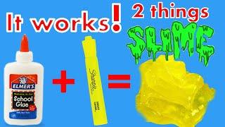 How To Make Slime with Highlighter DIY Slime No Borax !!! Jake Paul and Banks drama free video