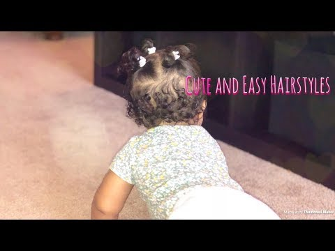 Quick And Easy Hairstyles For Baby Girls | Cinthya |