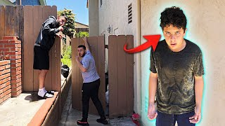 We snuck into his house & this happened... *BACKFIRE*