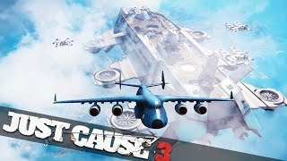BIGGEST AIRSHIP IN THE WORLD Just Cause 3 Sky Fortress