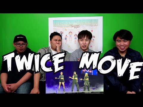 TWICE - MOVE COVER REACTION (TRUE ONCES)