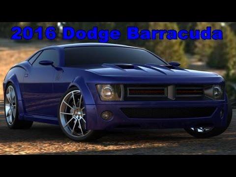 2016 dodge barracuda exterior and interior - 2016 Dodge Barracuda Interior