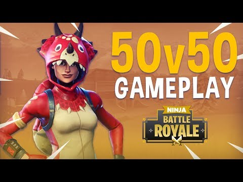 50v50 Playlist! - Fortnite Battle Royale Gameplay - Ninja