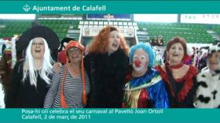 Posa-hi oli celebra el seu carnaval al Pavello Joan Ortoll