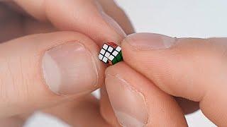 THE SMALLEST RUBIK'S CUBE IN THE WORLD   Nano cube