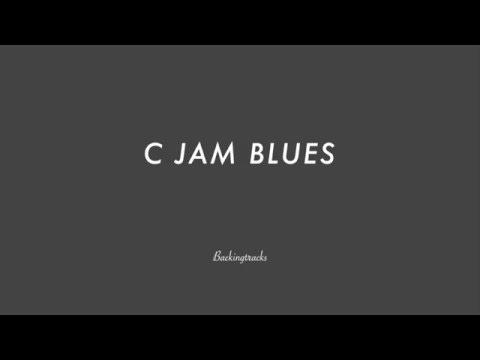 C JAM BLUES chord progression - Jazz Backing Track Play Along