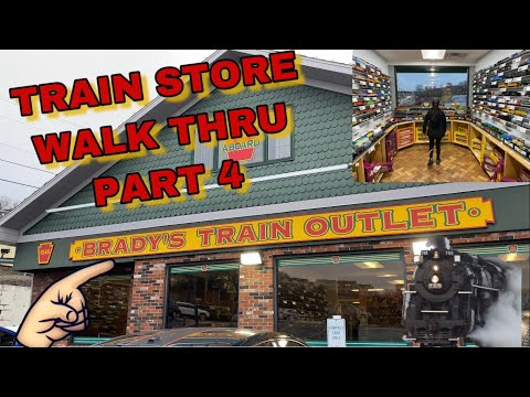 Train Store Walk Through – Part 4 – Brady's Train Outlet in Greensburg PA