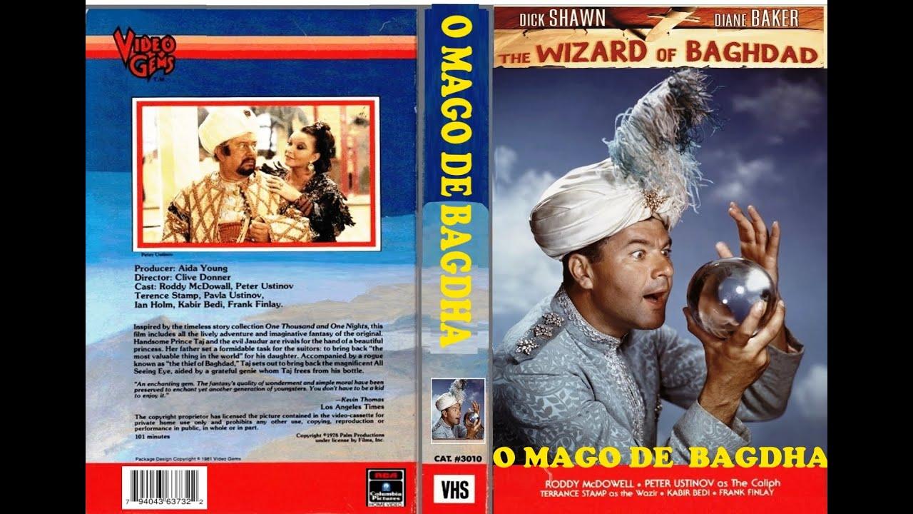 Poster do filme O Mago de Bagdá