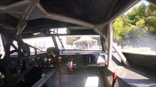 Onboard with Jerome Galpin on the Goodwood hill