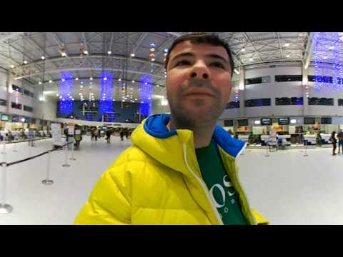 Romania Bucharest Otopeni Airport 360 video