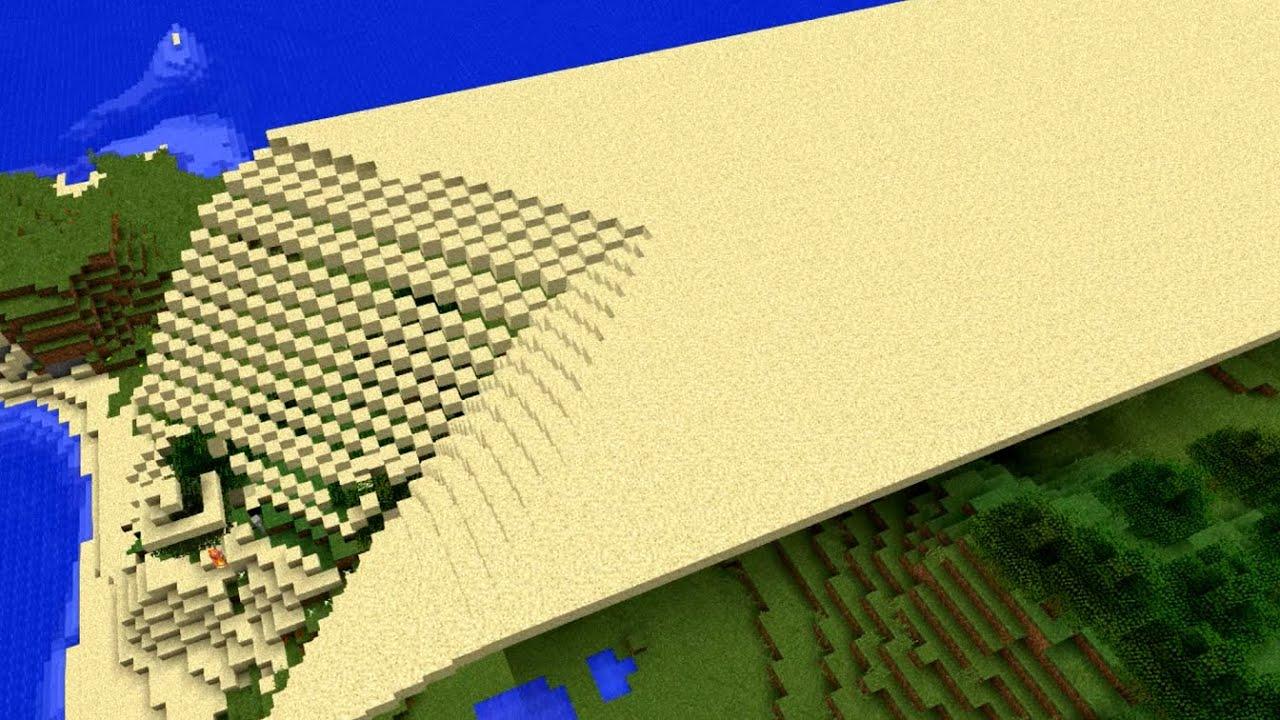 [マイクラ] 砂の強襲:その日 マイクラは思い出した、砂に支配されていた恐怖を・・・ [Minecraft]