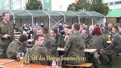 Sommerfest in der USH des Heeres