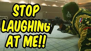 Stop laughing at me!! - Rainbow Six Siege Funny Moments (Siege Week)