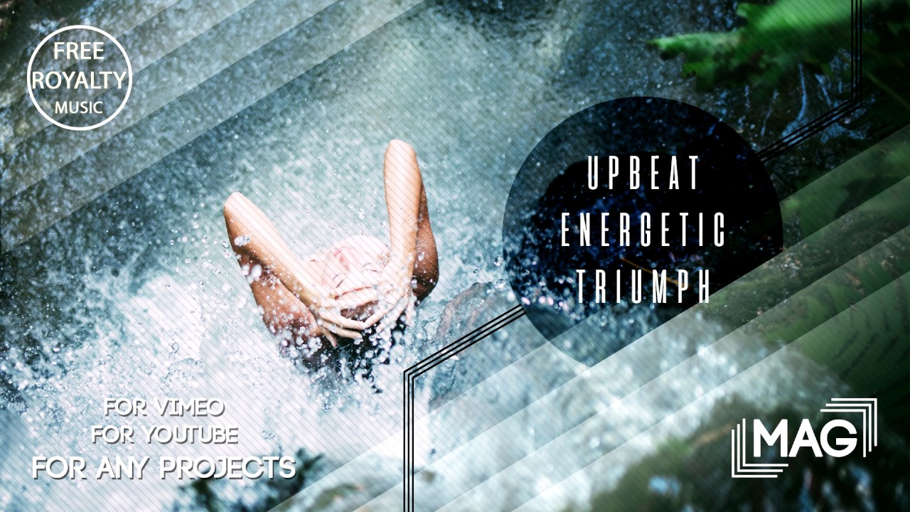upbeat energetic triumph commercial royalty free music for videos