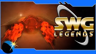 SWG Legends - Star Wars Galaxies - Piloting and City Building - Jump to Lightspeed