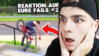 Ich REAGIERE auf EURE FAILS #2 😱🚲