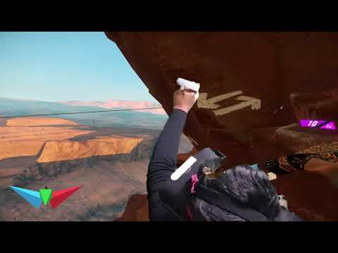 The Climb VR| Canyon easy in less than 5 minutes|  Oculus mixed reality