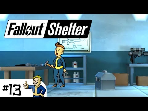 Fallout Shelter - EP13 - Weapon Workshop