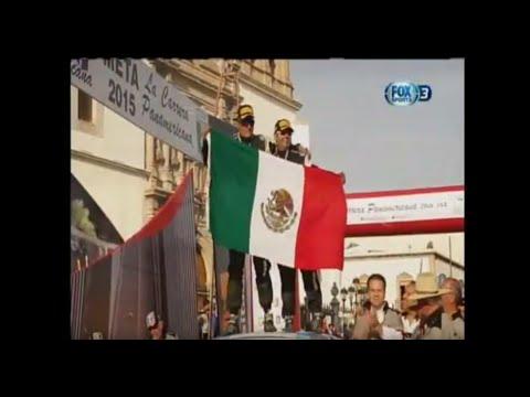 Carrera Panamericana Rally 2015 México (programa transmitido en Fox Sports 3)
