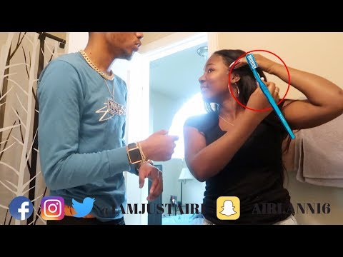 I USED TRAY TOOTHBRUSH FOR MY EDGES !!! | IAMJUSTAIRI