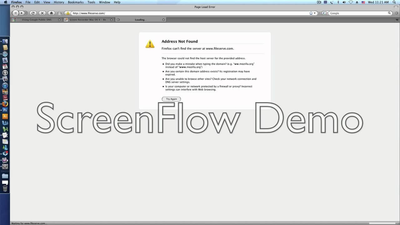 how to create a dns on a mac