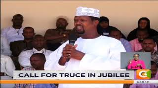 DP asks warring factions in Jubilee to unite