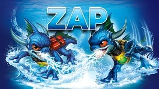 Skylanders - Zap Toy Line Gameplay Montage