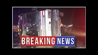 3 people killed, 24 injured after multi-vehicle crash involving tour bus in New Mexico