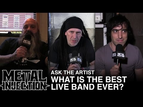 ASK THE ARTIST: What's The Best Live Band Ever? | Metal Injection