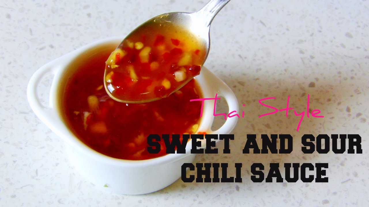 Sweet And Sour Sauce Thai Style Ramadan Recipes Youtube